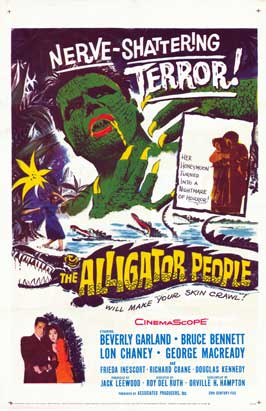 The Alligator People - 27 x 40 Movie Poster - Style A