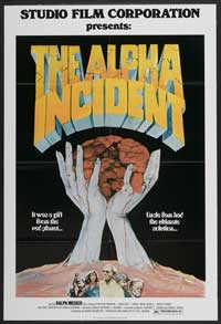 The Alpha Incident - 11 x 17 Movie Poster - Style A