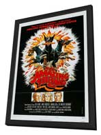 The Amazing Dobermans - 11 x 17 Movie Poster - Style B - in Deluxe Wood Frame