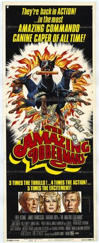 The Amazing Dobermans - 14 x 36 Movie Poster - Insert Style A