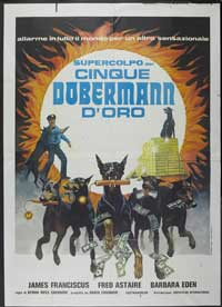 The Amazing Dobermans - 11 x 17 Movie Poster - Italian Style B