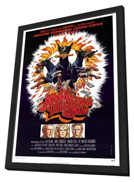 The Amazing Dobermans - 27 x 40 Movie Poster - Style C - in Deluxe Wood Frame