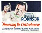 Amazing Dr. Clitterhouse, The - 11 x 14 Movie Poster - Style B