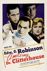 Amazing Dr. Clitterhouse, The - 27 x 40 Movie Poster - Style B
