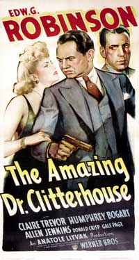 Amazing Dr. Clitterhouse, The - 11 x 17 Movie Poster - Style C