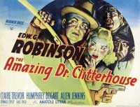 Amazing Dr. Clitterhouse, The - 11 x 17 Movie Poster - UK Style A