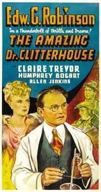 Amazing Dr. Clitterhouse, The - 20 x 40 Movie Poster - Style B
