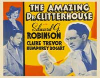Amazing Dr. Clitterhouse, The - 22 x 28 Movie Poster - Style A