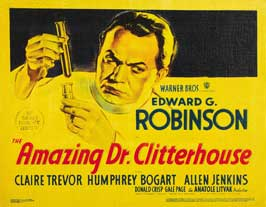 Amazing Dr. Clitterhouse, The - 11 x 14 Movie Poster - Style A