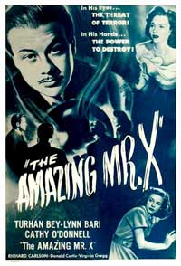 Amazing Mr. X, The - 11 x 17 Movie Poster - Style A