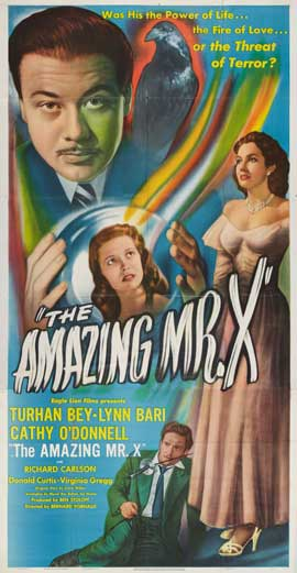 Amazing Mr. X, The - 20 x 40 Movie Poster - Style A