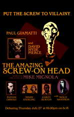 The Amazing Screw-On Head - 11 x 17 Movie Poster - Style A