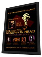 The Amazing Screw-On Head - 27 x 40 Movie Poster - Style A - in Deluxe Wood Frame