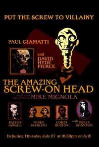 The Amazing Screw-On Head - 27 x 40 Movie Poster - Style A