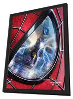 The Amazing Spider-Man 2 - 27 x 40 Movie Poster - Spanish Style A - in Deluxe Wood Frame