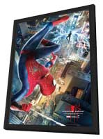 The Amazing Spider-Man 2 - 11 x 17 Movie Poster - Style A - in Deluxe Wood Frame