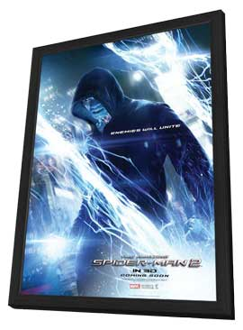 The Amazing Spider-Man 2 - 11 x 17 Movie Poster - Style B - in Deluxe Wood Frame