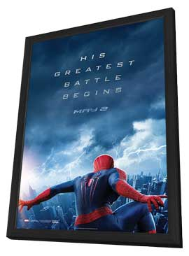 The Amazing Spider-Man 2 - 11 x 17 Movie Poster - Style E - in Deluxe Wood Frame