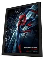 The Amazing Spider-Man - 27 x 40 Movie Poster - Style G - in Deluxe Wood Frame