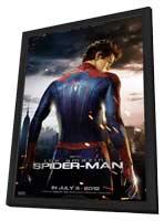 The Amazing Spider-Man - 11 x 17 Movie Poster - Style F - in Deluxe Wood Frame