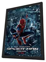 The Amazing Spider-Man - 11 x 17 Movie Poster - Style K - in Deluxe Wood Frame