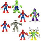The Amazing Spider-Man - Super Hero Adventures Figure 2-Packs Wave 1 Set