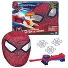 The Amazing Spider-Man - Amazing Stretchy Web Shooter and Mask Bundle
