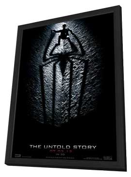 The Amazing Spider-Man - 11 x 17 Movie Poster - Style H - in Deluxe Wood Frame