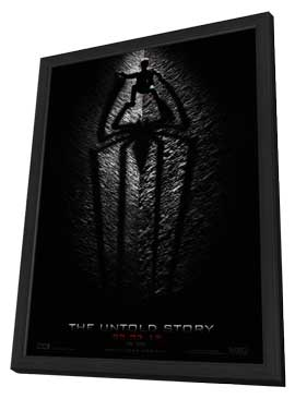 The Amazing Spider-Man - 27 x 40 Movie Poster - Style A - in Deluxe Wood Frame