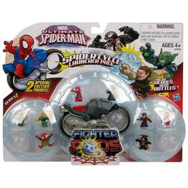 The Amazing Spider-Man - Spider Pods Fighter Pods Cycle Launcher Vehicle