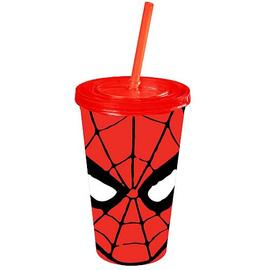 The Amazing Spider-Man - Face 16 oz. Plastic Travel Cup