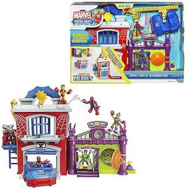 The Amazing Spider-Man - Marvel Super Hero Crime-Fighting Headquarters Playset