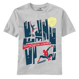 The Amazing Spider-Man - Amazing Saul Good Silver T-Shirt