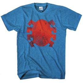 The Amazing Spider-Man - Dead Logo Blue Heather T-Shirt