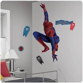 The Amazing Spider-Man - Amazing Movie Webslinger Giant Wall Decal