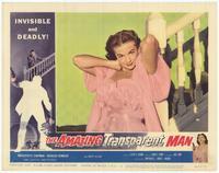 The Amazing Transparent Man - 11 x 14 Movie Poster - Style B
