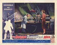 The Amazing Transparent Man - 11 x 14 Movie Poster - Style D