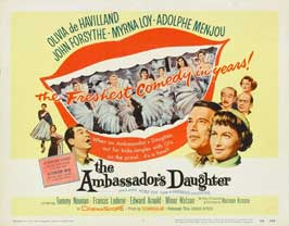 The Ambassador's Daughter - 11 x 14 Movie Poster - Style A