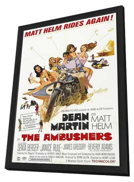 The Ambushers - 11 x 17 Movie Poster - Style A - in Deluxe Wood Frame