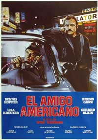 The American Friend - 11 x 17 Movie Poster - Spanish Style A