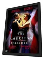 The American President - 27 x 40 Movie Poster - Style B - in Deluxe Wood Frame