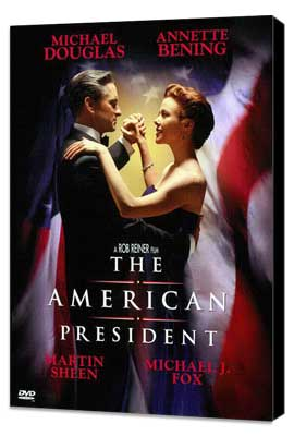 The American President - 27 x 40 Movie Poster - Style B - Museum Wrapped Canvas
