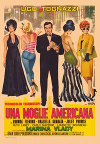 The American Wife - 11 x 17 Movie Poster - Italian Style A