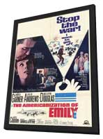 The Americanization of Emily - 11 x 17 Movie Poster - Style A - in Deluxe Wood Frame