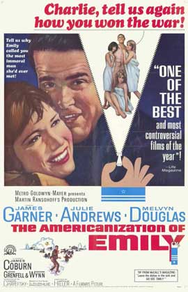 The Americanization of Emily - 11 x 17 Movie Poster - Style B
