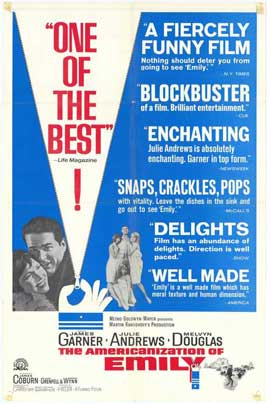 The Americanization of Emily - 11 x 17 Movie Poster - Style C