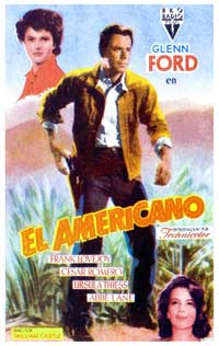 The Americano - 11 x 17 Movie Poster - Spanish Style A