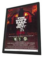 The Amityville Horror - 11 x 17 Movie Poster - Style A - in Deluxe Wood Frame