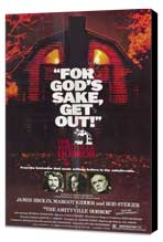 The Amityville Horror - 27 x 40 Movie Poster - Style A - Museum Wrapped Canvas