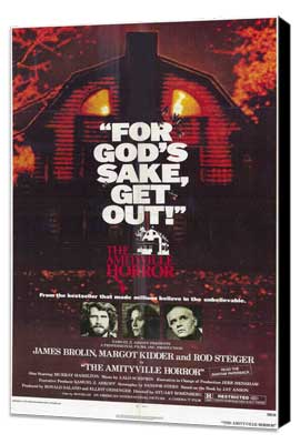 The Amityville Horror - 11 x 17 Movie Poster - Style A - Museum Wrapped Canvas